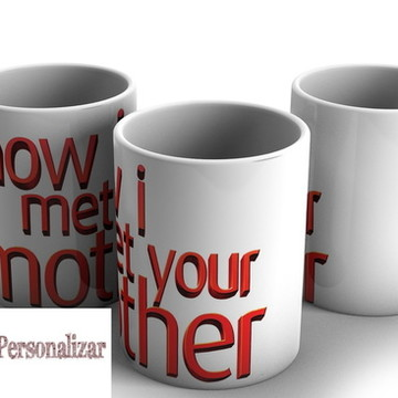 Caneca How I Met Your Mother 26
