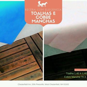 TOALHA E CObre EM TNT 1,40 X 1,40 pc 10