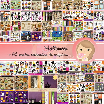 Kit Digital HALLOWEEN completo