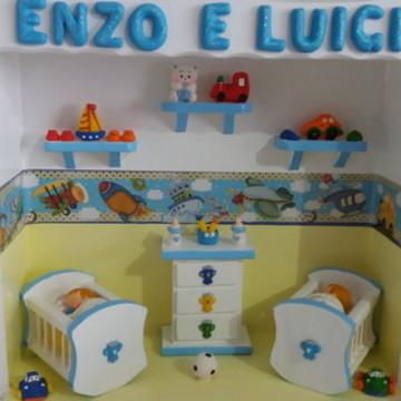 Porta Maternidade Gêmeos - Transportes