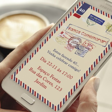 Convite Digital Viagem Whatsapp