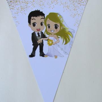 Bandeirola - Casamento