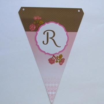 Bandeirola - Rosas