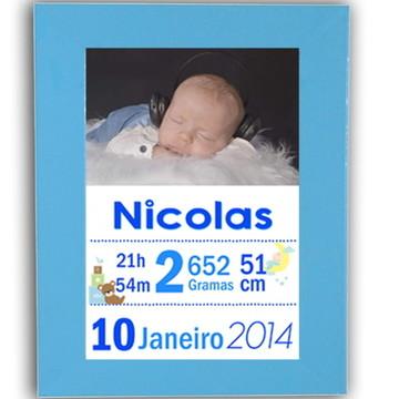 Quadro de Nascimento / Maternidade 20x30