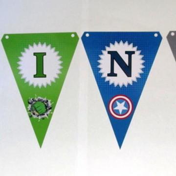 Bandeirola - Vingadores