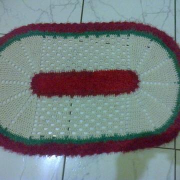 2 Tapetes pequeno em crochê