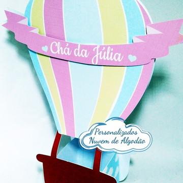 Caixa Balão - Tema balão