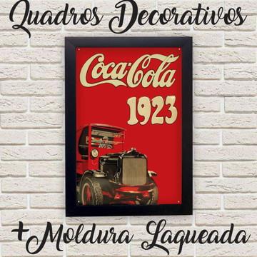 Quadro Coca-Cola 1923 Vintage + Moldura