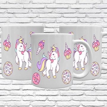 caneca unicornio