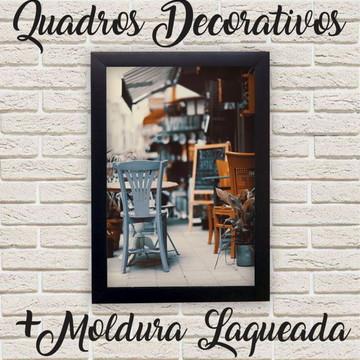 Quadro Decorativo Vintage Restaurante