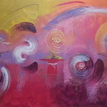 Pintura em tela - Abstrata 6