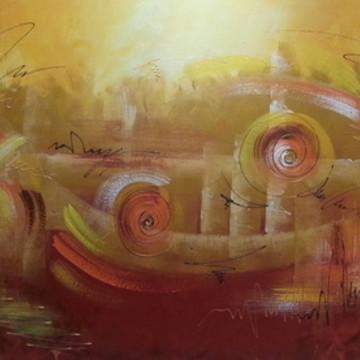 Pintura em tela - Abstrato 8