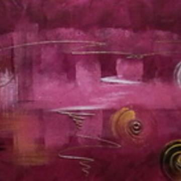 Pintura em tela - Abstrato 9