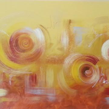 Pintura em tela - Abstrato 10