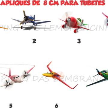 APLIQUE TUBETE aviões