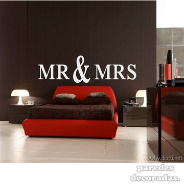 adesivo Sr e Sra