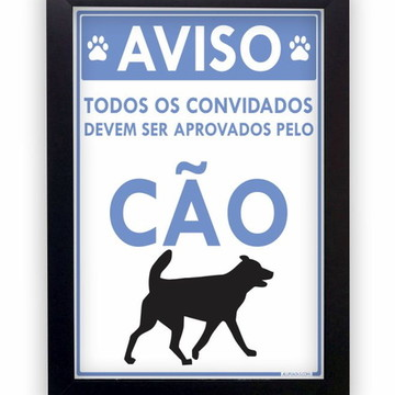 Quadro Decorativo Pet Shop