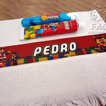 Kit Higiene bucal Lego