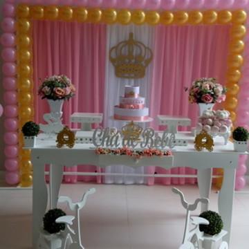 Locação Decoração Chá de bebê Princesa 3