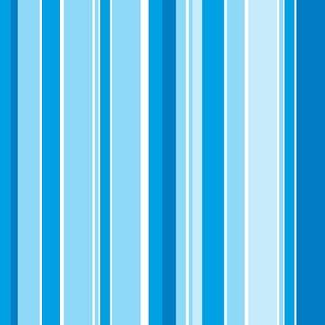Papel de Parede Listrado Azul Gradient