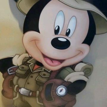 Kit Disney Safari para locaçao