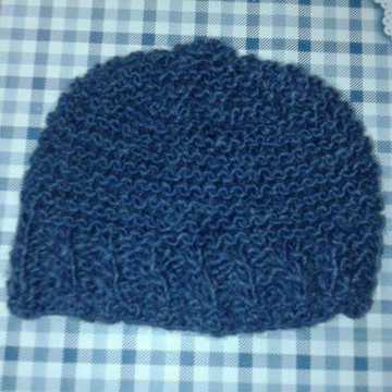4807ad42ef9af Touca Gorro Azul Jeans Kids Unissex A1B16C