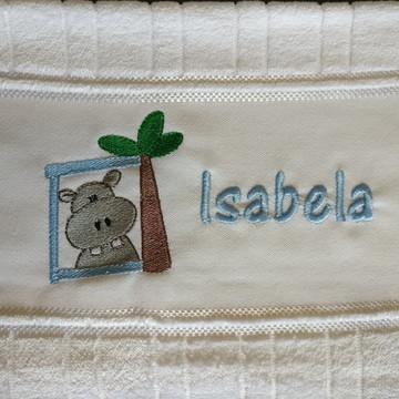 Toalha Safari Isabela - personalizada