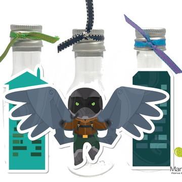 Garrafinha - Homem Aranha