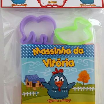 Kit de Massinha da Galinha Pintadinha