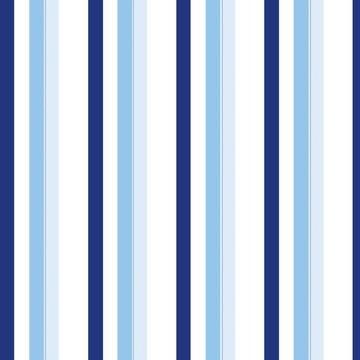 Papel de Parede Listrado Degradê Azul