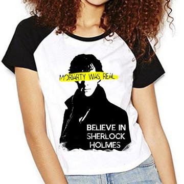 Camiseta Sherlock Holmes Moriarty