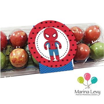 Caixa de ovinhos - Homem Aranha