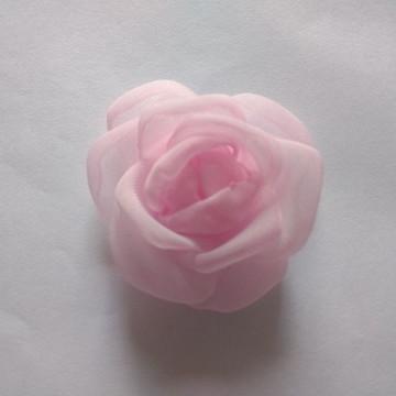 Flores em tecido Voil 3cm
