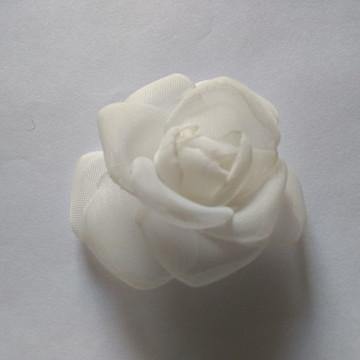 Flores em tecido Voil 7cm