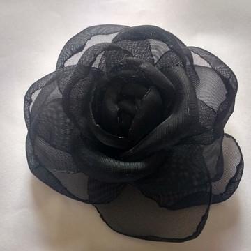 Flores em tecido Voil 8cm