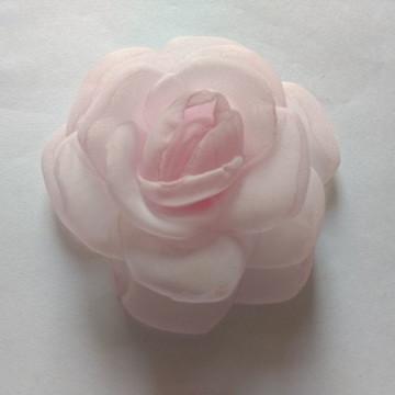 Flores em tecido Voil 9cm