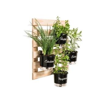Horta Vertical 4 Vasos AutoIrrigáveis