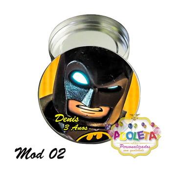 Latinha personalizada Batman