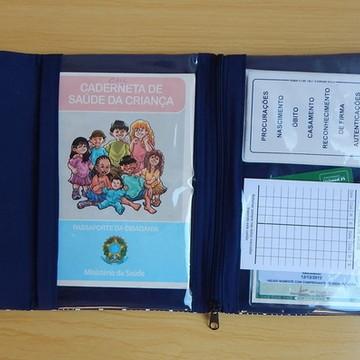 Porta Caderneta de Vacinas e Documentos
