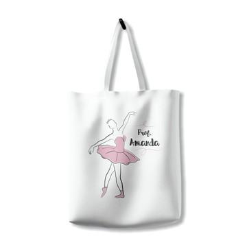 Bolsa Ecobag Professora Bailarina