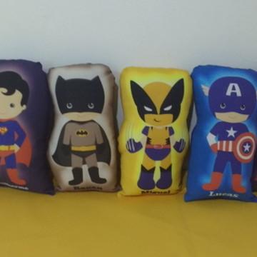 Almofadas Heróis e Vingadores - Pedido