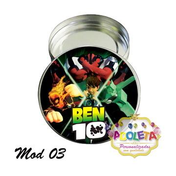 latinha Personalizado BEN 10