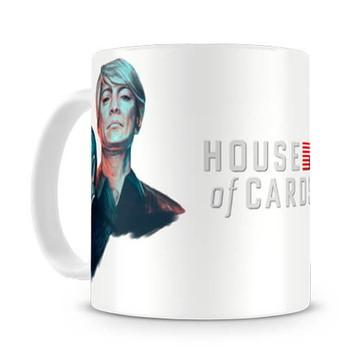 Caneca House of Cards Claire e Frank