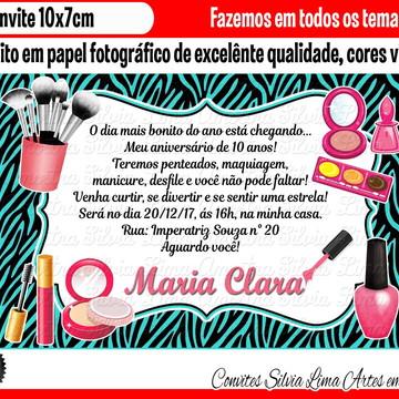 Convite maquiagem