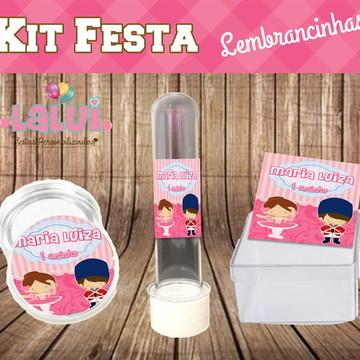 Kit Festa - Bailarina e Soldadinho