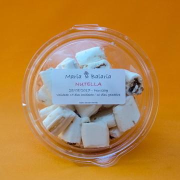Balas de Coco Recheadas - Nutella
