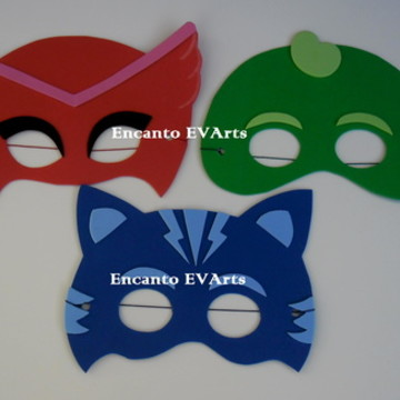 Máscaras PJ Masks - Heróis de Pijamas
