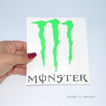 Adesivo Automotivo moto Monster