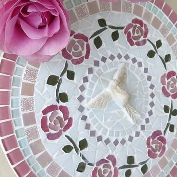 Mandala Divino Espírito Santo Rosas 30