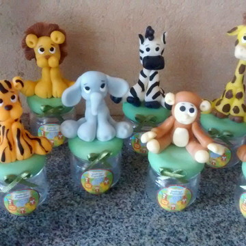 potinhos tema safari